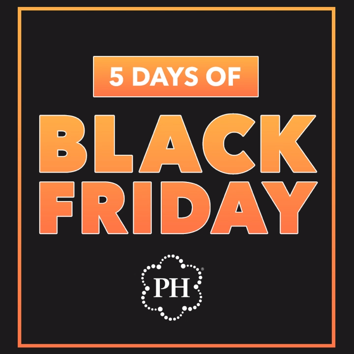 5 Days of Black Friday! Save up to 60% during out biggest sale of the year. #BlackFriday #Sale