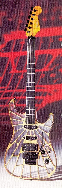 Fender Stratocaster Skeleton Transparent