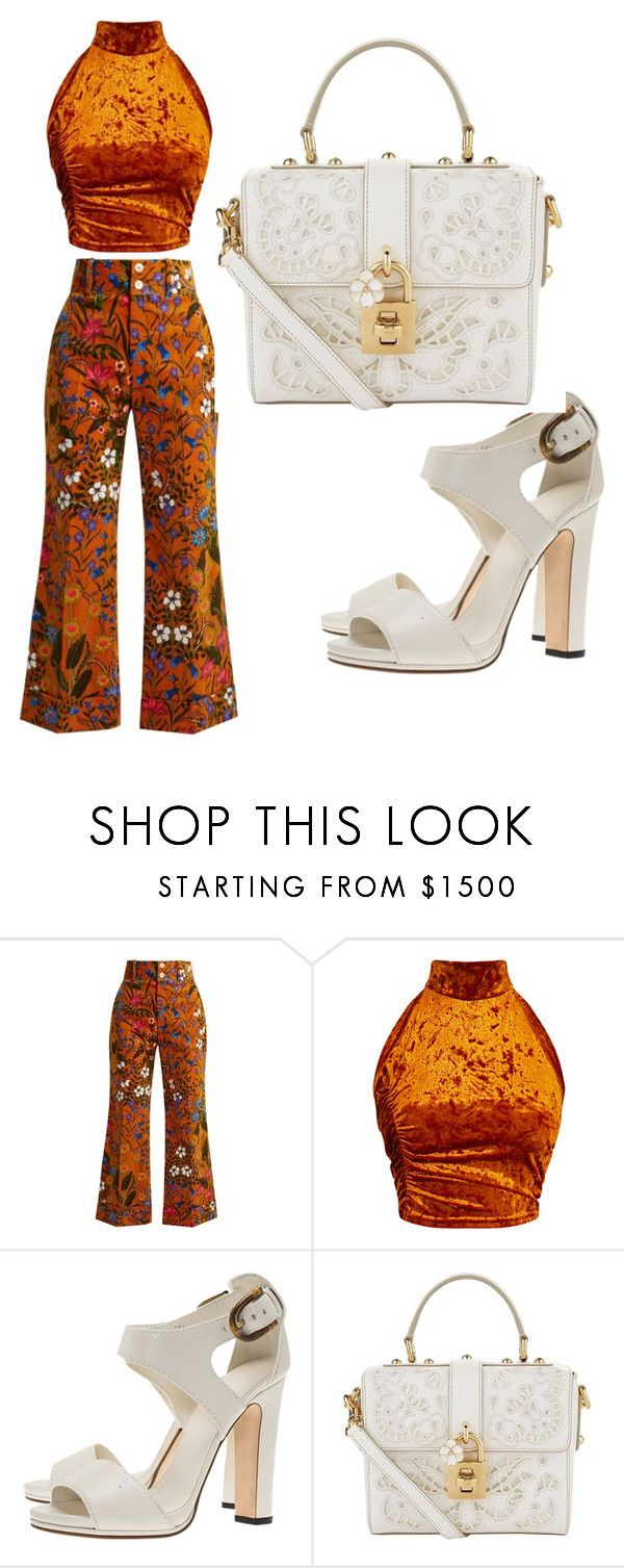 """""""Untitled #465"""" by juanita200321 on Polyvore featuring Gucci and Dolce&Gabbana"""