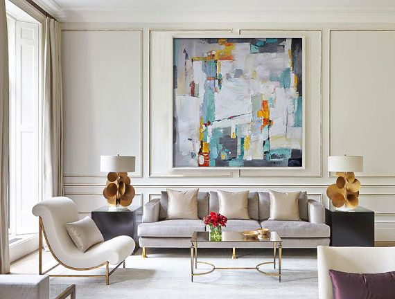 Contemporary Art X7a Interior Design Decor Living Room Designs