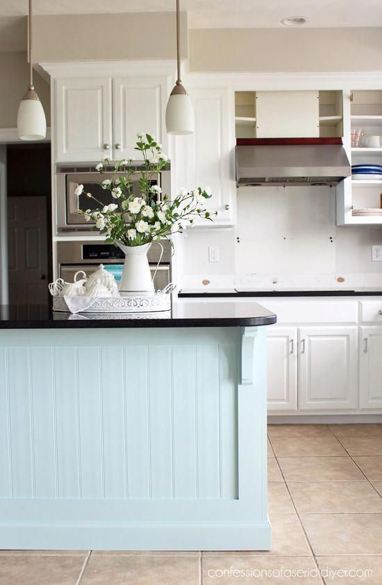 Beneficial reference associated to kitchen island with ...