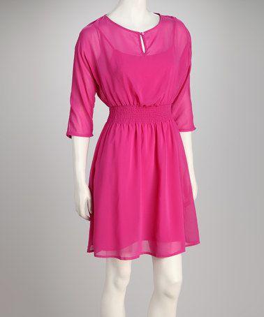 Topshop Womens Soft Pink Semi Sheer Pop