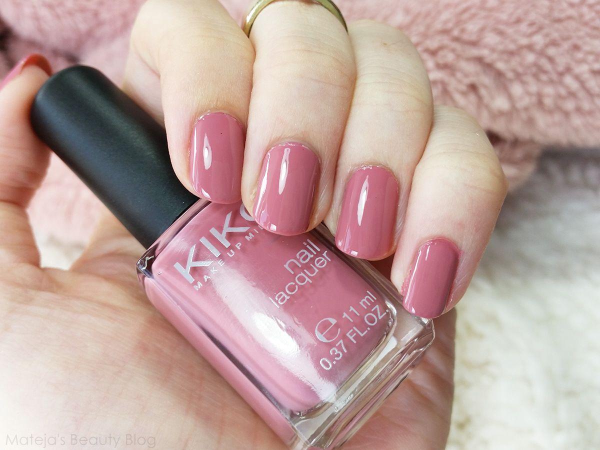 Kiko 375 Bois de Rose   MU   Pinterest   Manicure, Make up and ...