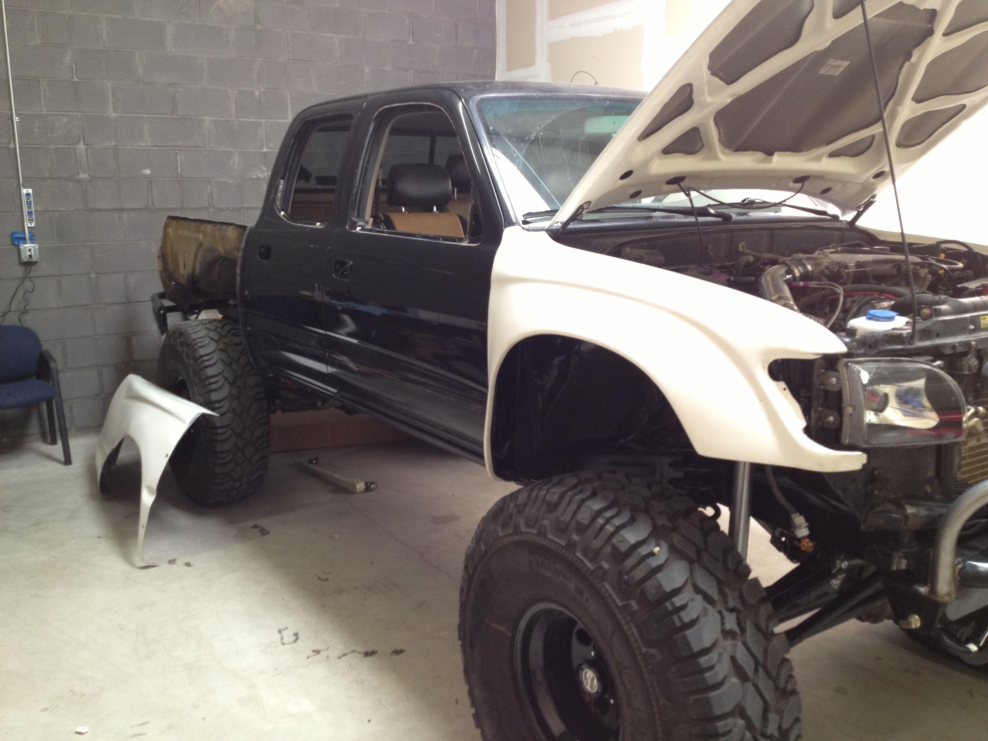 Pre wrap Monster trucks, Pre wrap