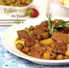 Photo of Potato tagine with olives and beef. For more than…