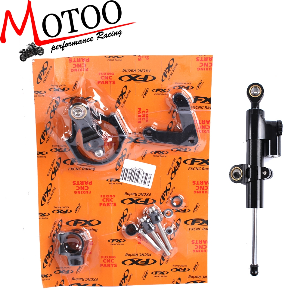 60.00$  Buy here - http://alig4i.worldwells.pw/go.php?t=32760911509 - Motoo - CNC Steering Damper Complete Set for DUCATI 848 2008-2010 with bracket kits