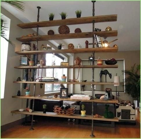 Room Dividers Shelf Ides Bout Diy Divider Bookcase