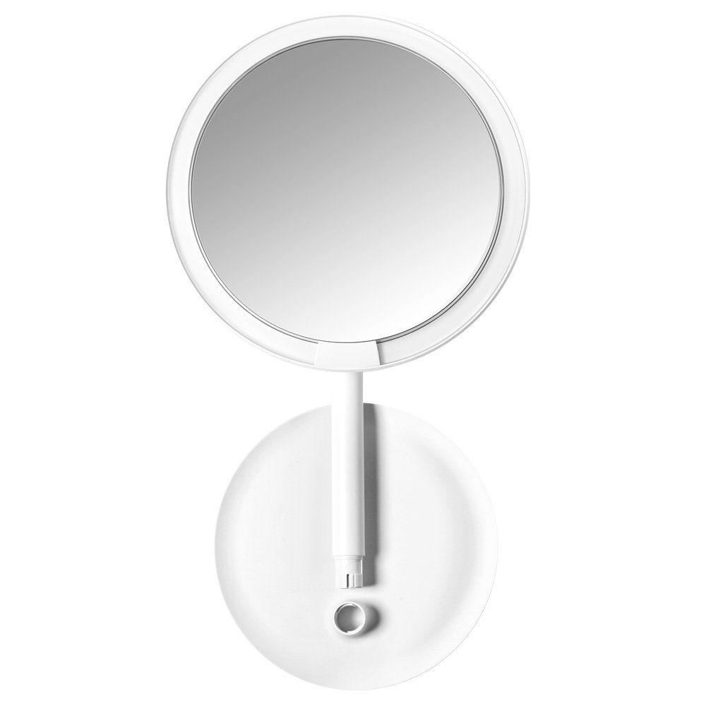 Amiro Lighted Makeup Mirror With Natural Daylight Led Lights Adjustable Brightness Rechargeable And Cordless Hig Makeup Mirror With Lights Mirror Makeup Mirror