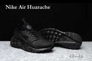 competitive price 31cd0 dcf81 Classic Men s Nike Air Huarache Run Ultra PK4 KPU Winter Casual Sports Shoes  All Black