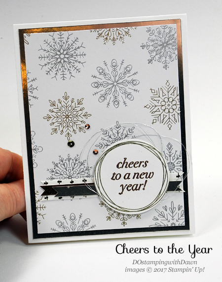stampin up cheers to the year cards shared by dawn olchefske