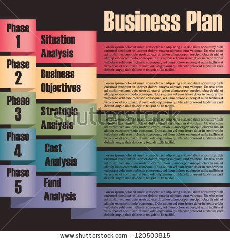 stock-vector-business-plan-modern-design-template-presentation ...
