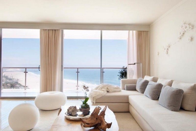 Sandfarbe Wand sandfarbe an der wand im wohnzimmer lässt den raum größer erscheinen
