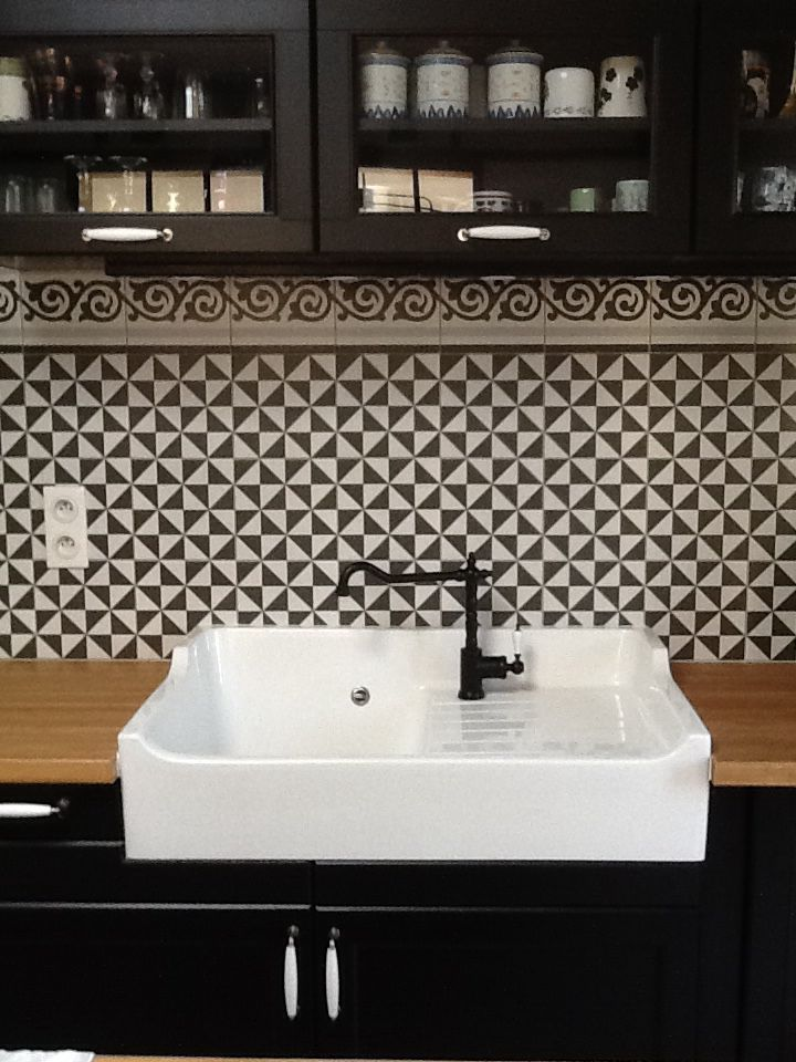 evier encastr cuisine ikea fa ence sur mesure. Black Bedroom Furniture Sets. Home Design Ideas