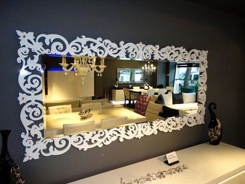 Deko Spiegel 01 deko spiegel mit swarovski dekupaj 989702942 symbol foto