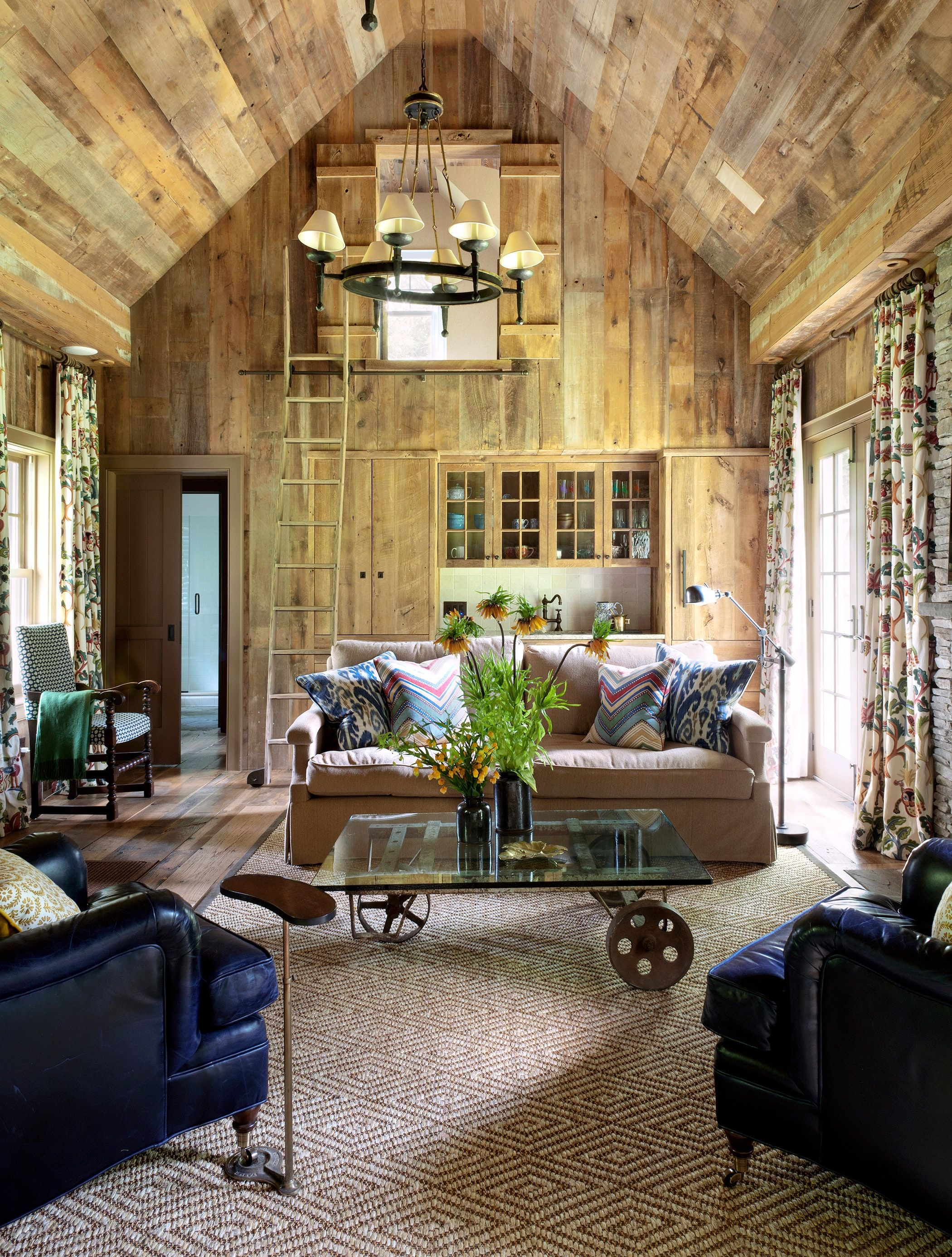 Amagansett Barn Living Room By Fearins Welch Interior Design