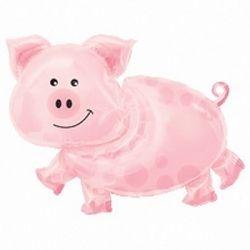 Pig SuperShape Foil Balloon (1)