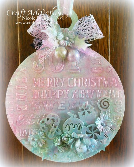 Sweet Vintage Christmas CraftEmotions