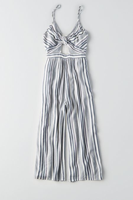 248f44181ca American Eagle Outfitters AE Knot Front Jumpsuit