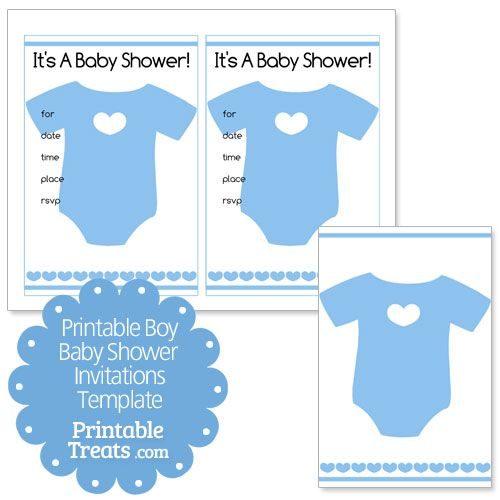 Printable baby boy shower invitations template from printabletreats printable baby boy shower invitations template from printabletreats filmwisefo Images