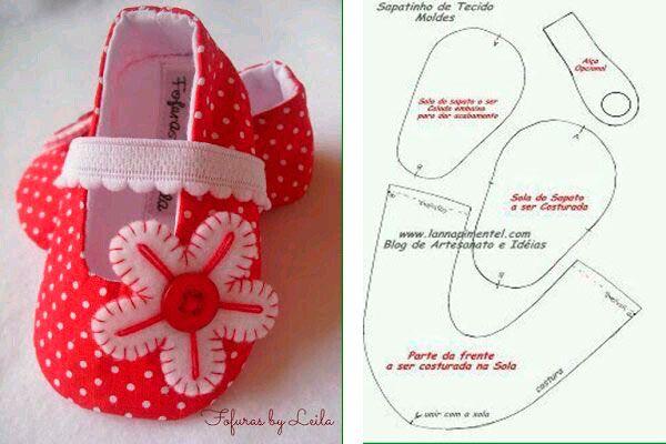 c049820fd moldes-y-modelos-para-hacer-zapatillas-de-tela-para-bebes-3 ...