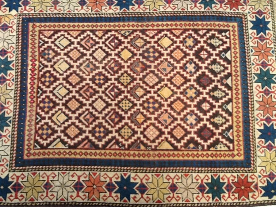 Fine Antique Caucasian Rug Old Fine Antique Caucasian 100 Vegetable Dyes And Wool Foundation Rugs Caucasian Rug Antique Rugs