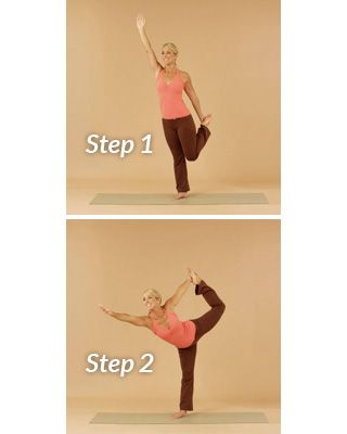 pose of the dancer  yoga for beginners easy yoga yoga moves