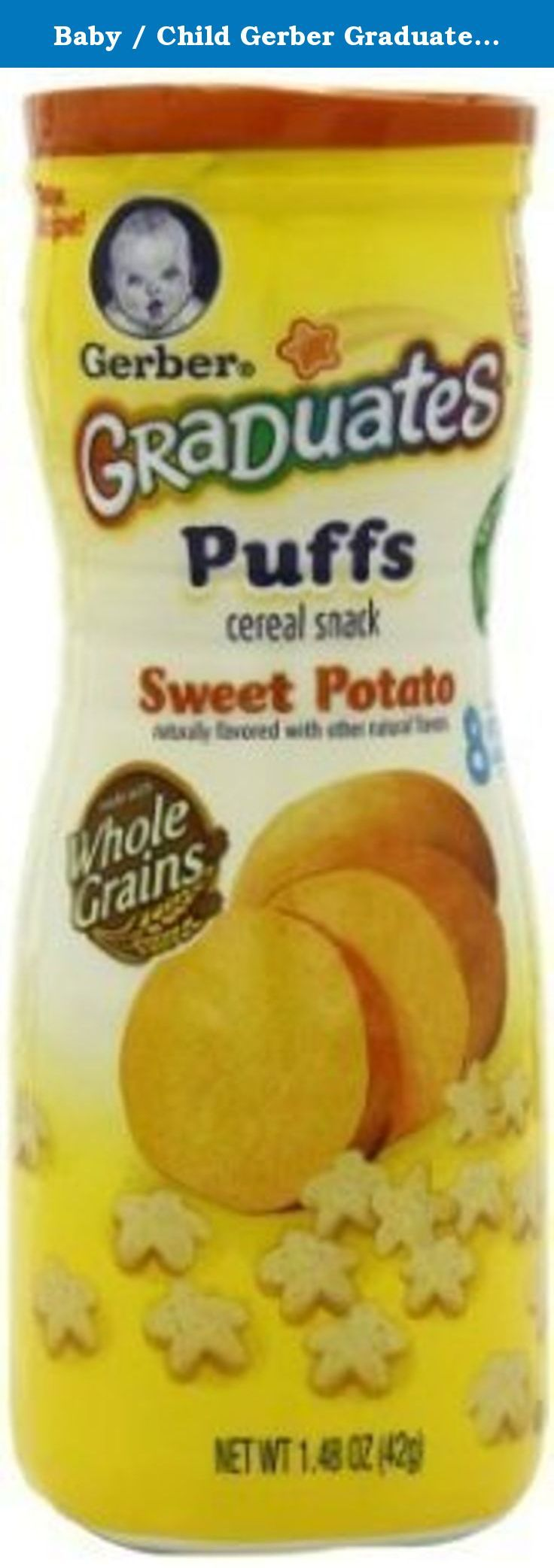 Baby child gerber graduates puffs melts in your mouth w