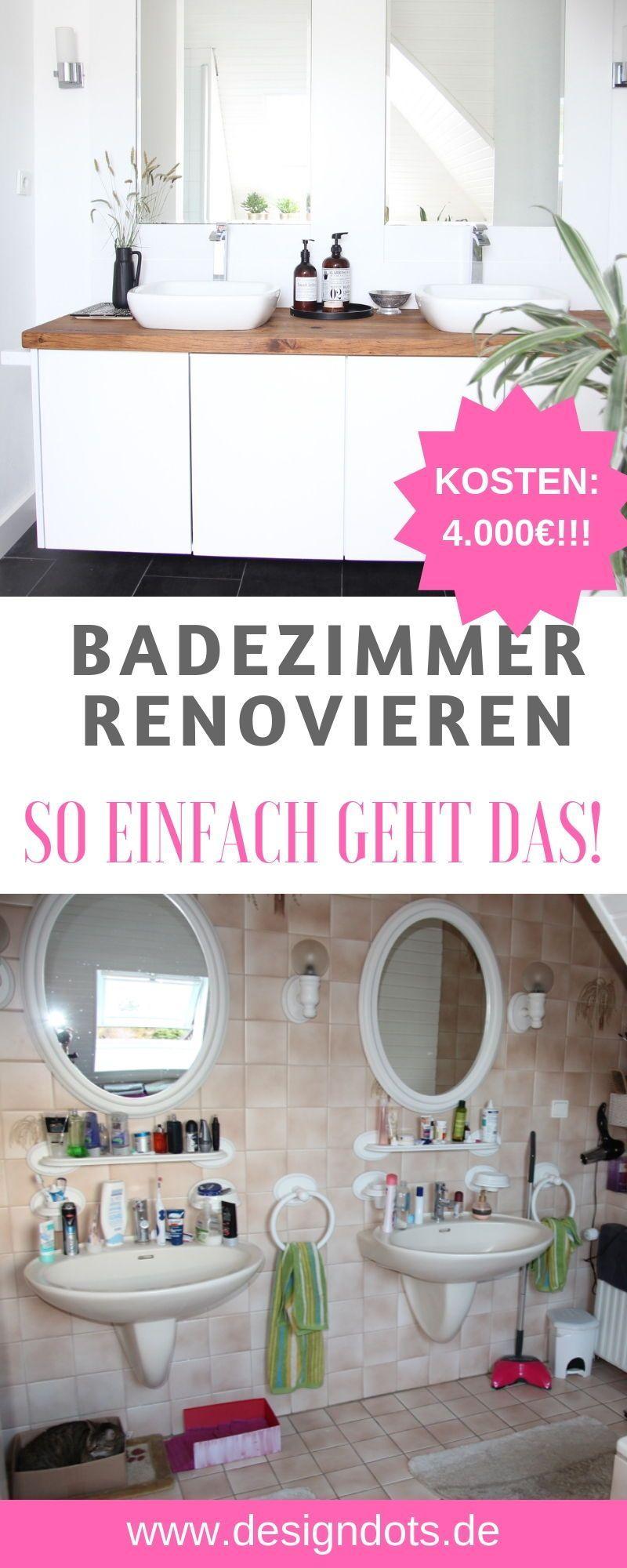 Badezimmer Selbst Renovieren In 2020 Badezimmer Renovieren Bad Renovieren Kosten Renovieren