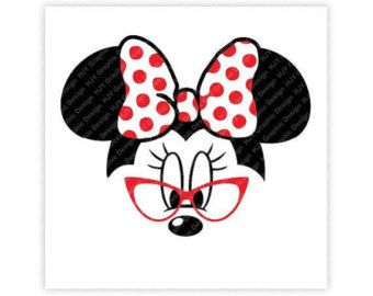 Disney Minnie Mouse Glasses Icon Mickey Mouse Head