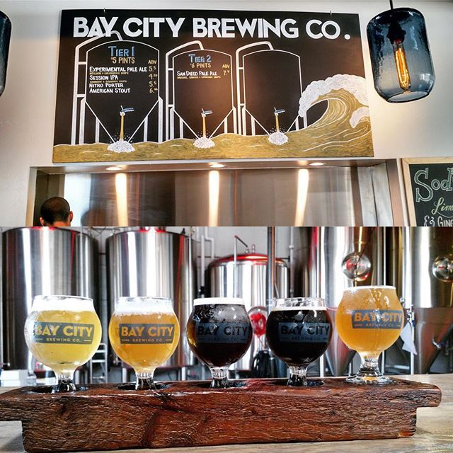 Glad we finally got a chance to check out @baycitybrewing! Great beers from this new brewery - give them a try next time you are near Point Loma