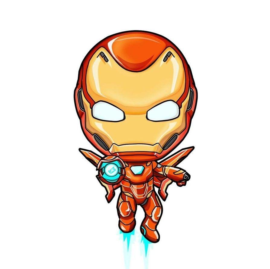 Iron Man Chibi Desenhos Da Marvel Marvel Desenhos E