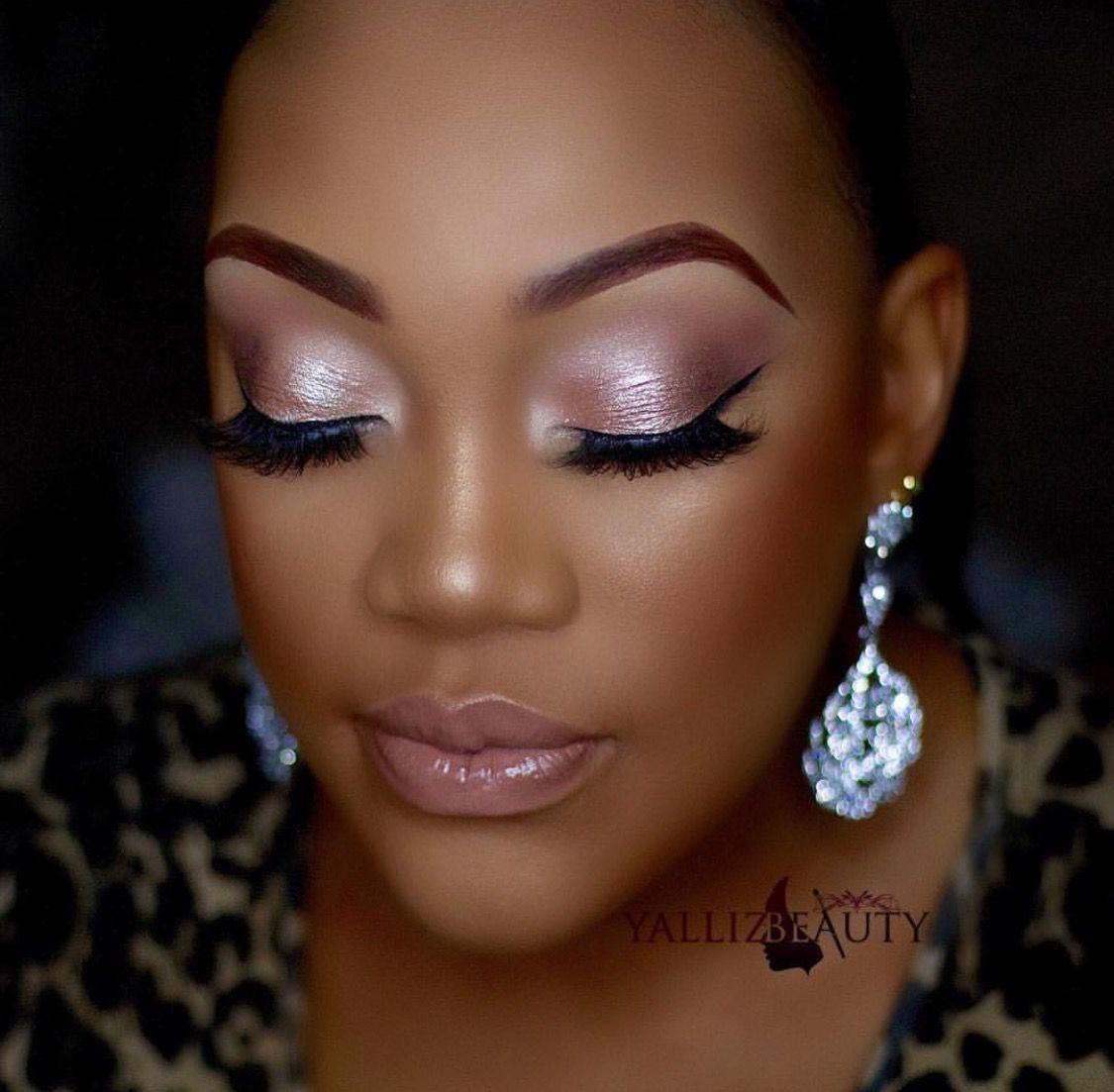 Makeup for black women BeautyTipsDiy in 2019 Dark skin