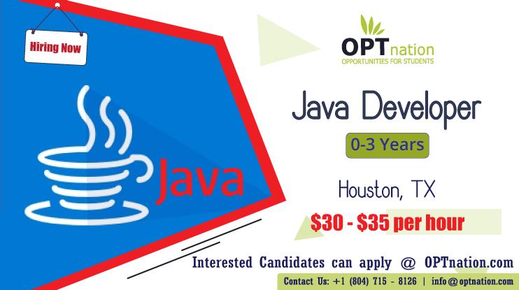 We're Hiring Java Developer in Houston, TX. Build your