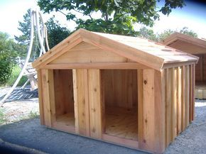 How To Build A Dog House Blueprint Home Improvement Big Dog