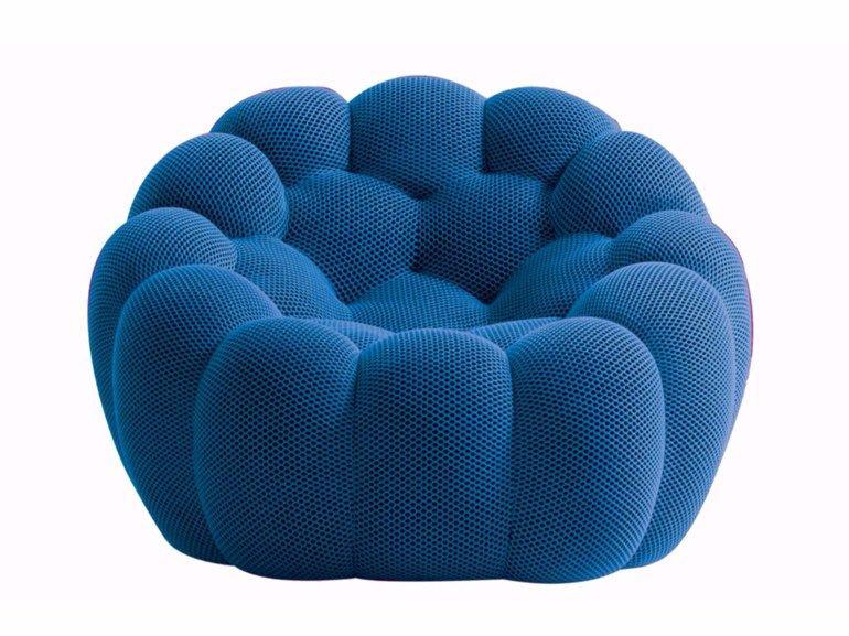 beautiful fauteuil en tissu bubble fauteuil by roche bobois with lit rond roche bobois. Black Bedroom Furniture Sets. Home Design Ideas