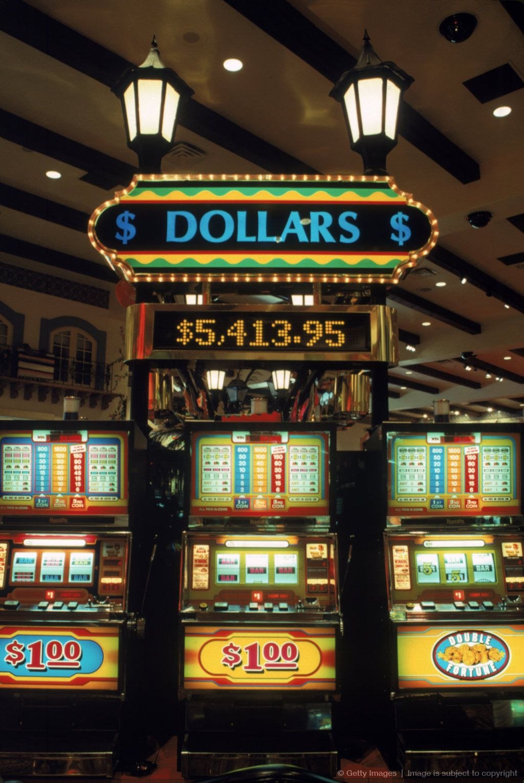 Harrah's Slots, Laughlin, Neveda Casino, Geant casino