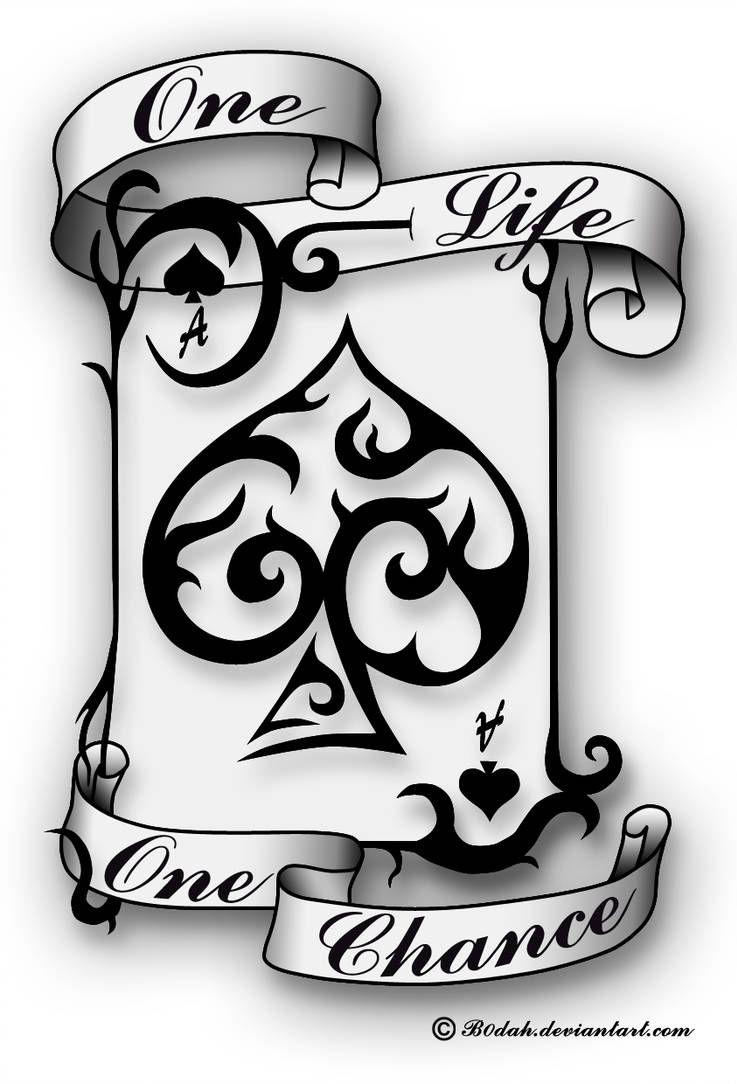 Ace Of Spades tattoo design by B0dah on DeviantArt