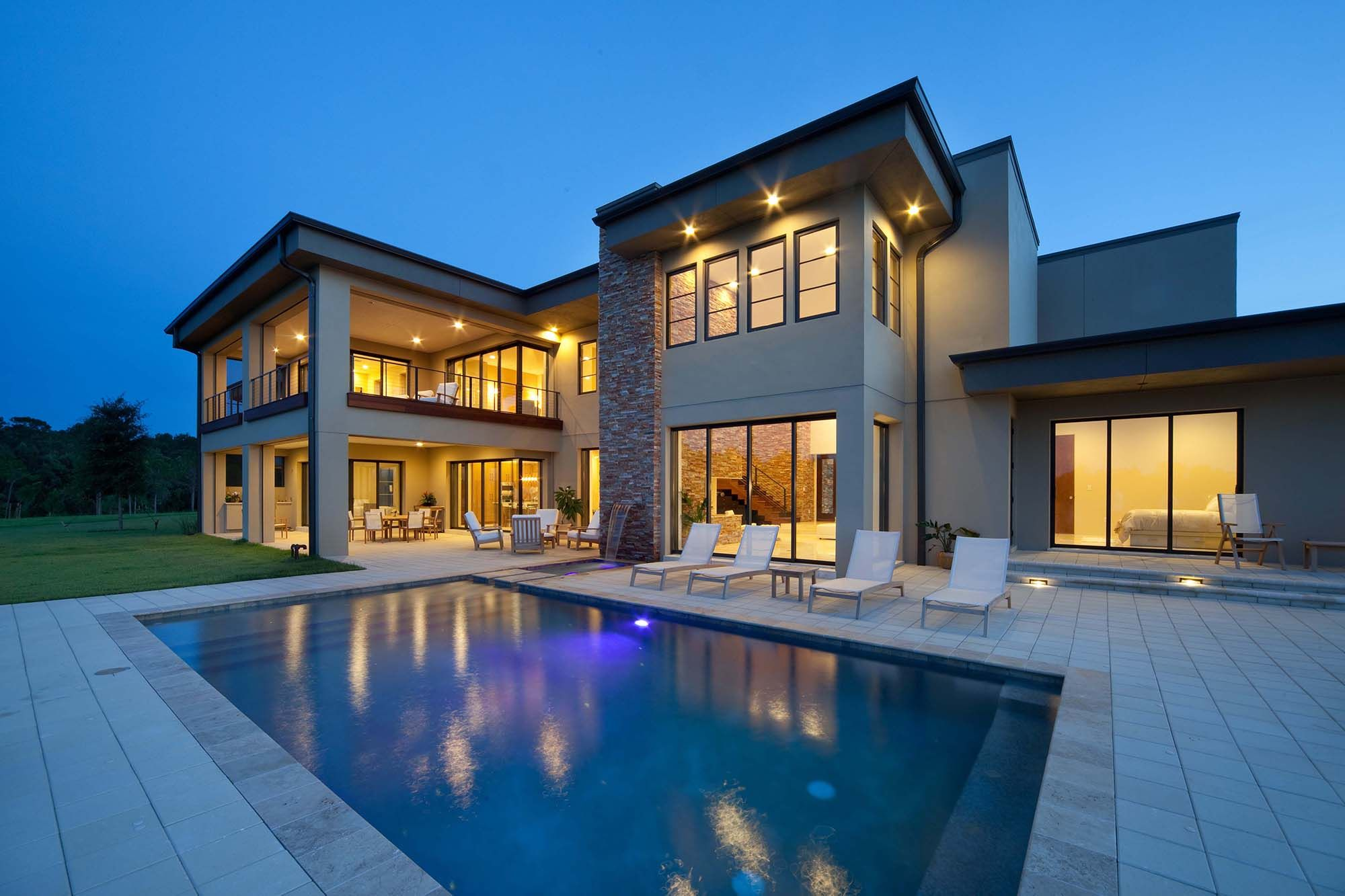 Modern Flat Roof Home Designs Luxury house designs