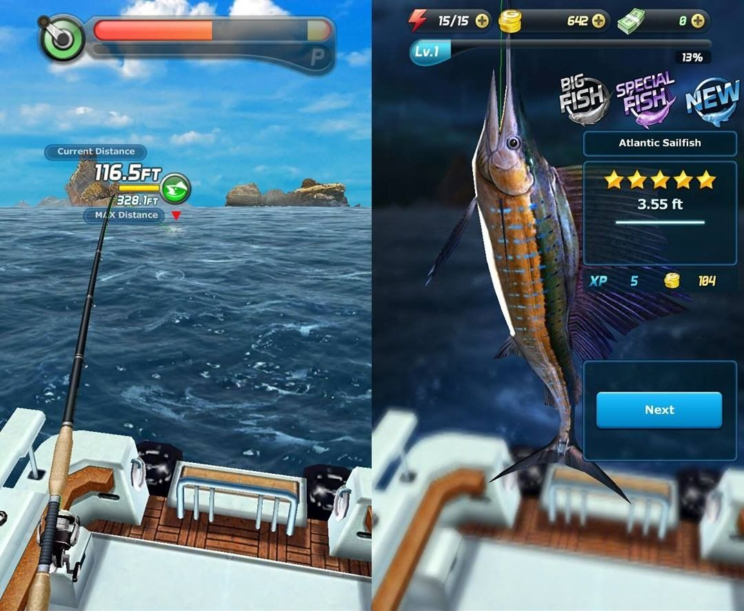ace fishing game