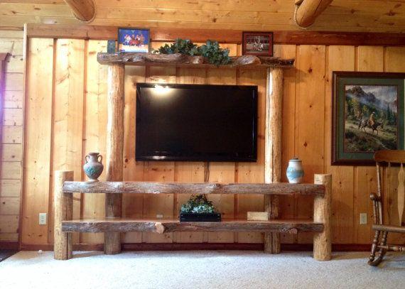 Log Entertainment Center. Spruce Logs. Cedar Logs. Log Home. Home ...