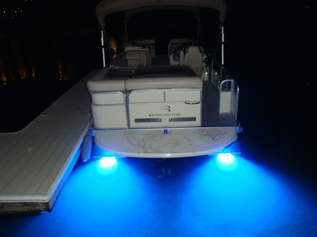 boat railing rod holder by stubb111 fishing rod holder for the underwater led lights pontoon boat accessories google search