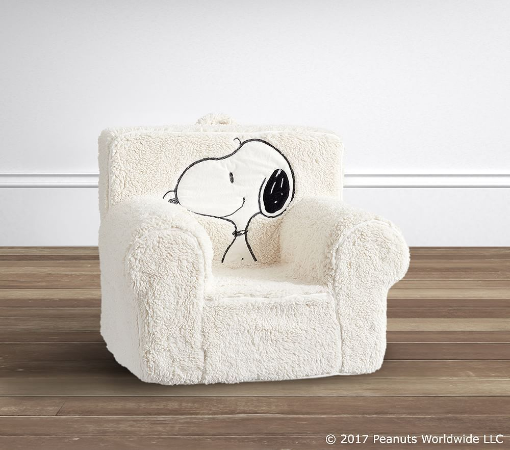 Snoopy 174 Sherpa Anywhere Chair 174 Slipcover Only Snoopy