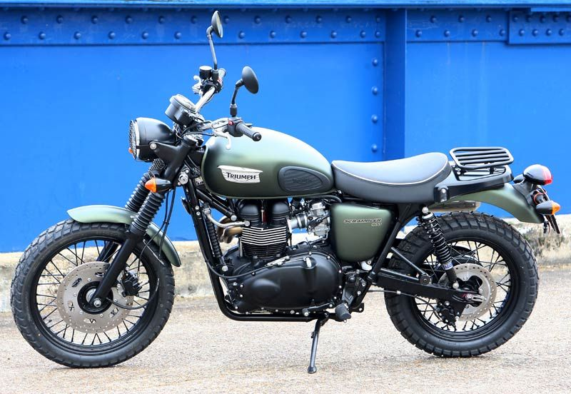 Jack Lilley special Triumph Scrambler - | Motorbike reviews | Latest