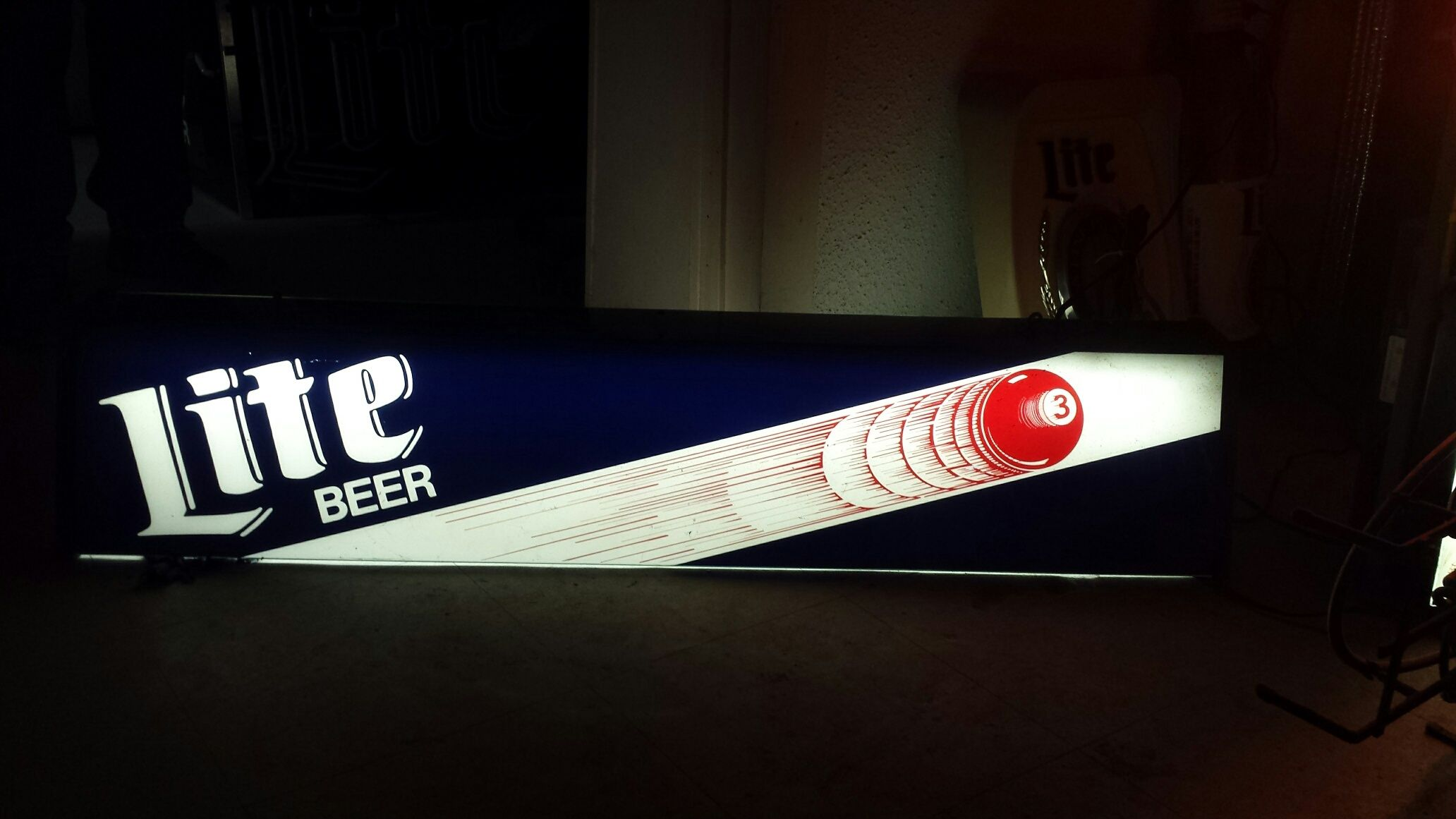 Lite BEER - Pool Table Light - Lit Up (With images) | Lite ...