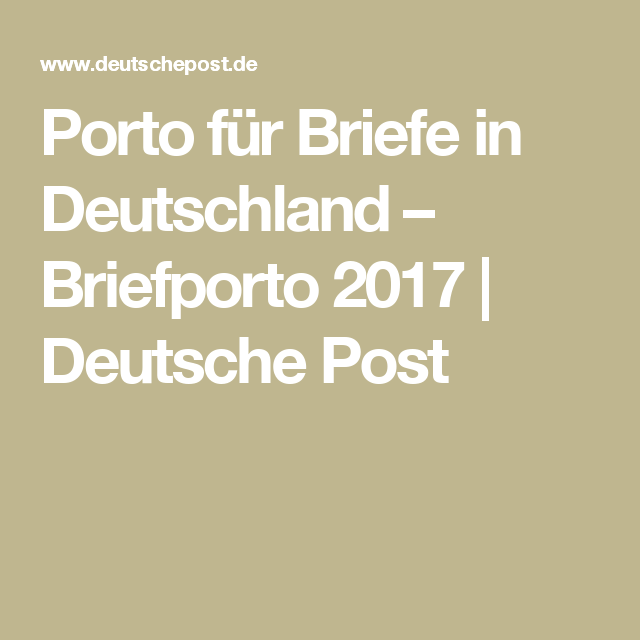 Briefe in Deutschland Briefe, Brief, Deutsche post