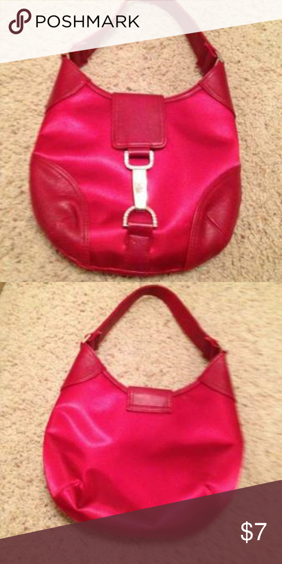 Ladies Red Purse Condition  Pre-owned Seller Notes