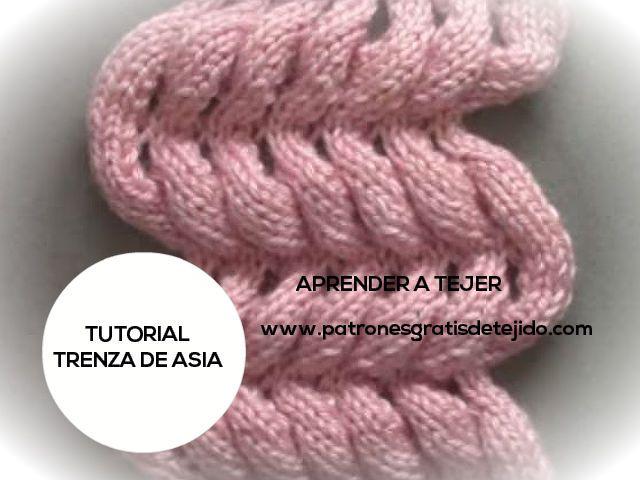 Clase gratis de tejido dos agujas como tejer el punto trenza de Asia ...