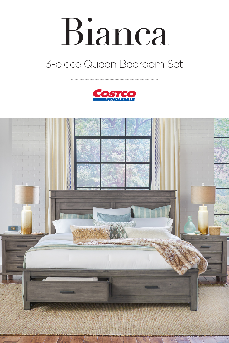 The Bianca Solid Pine Bedroom Collection Combines Both