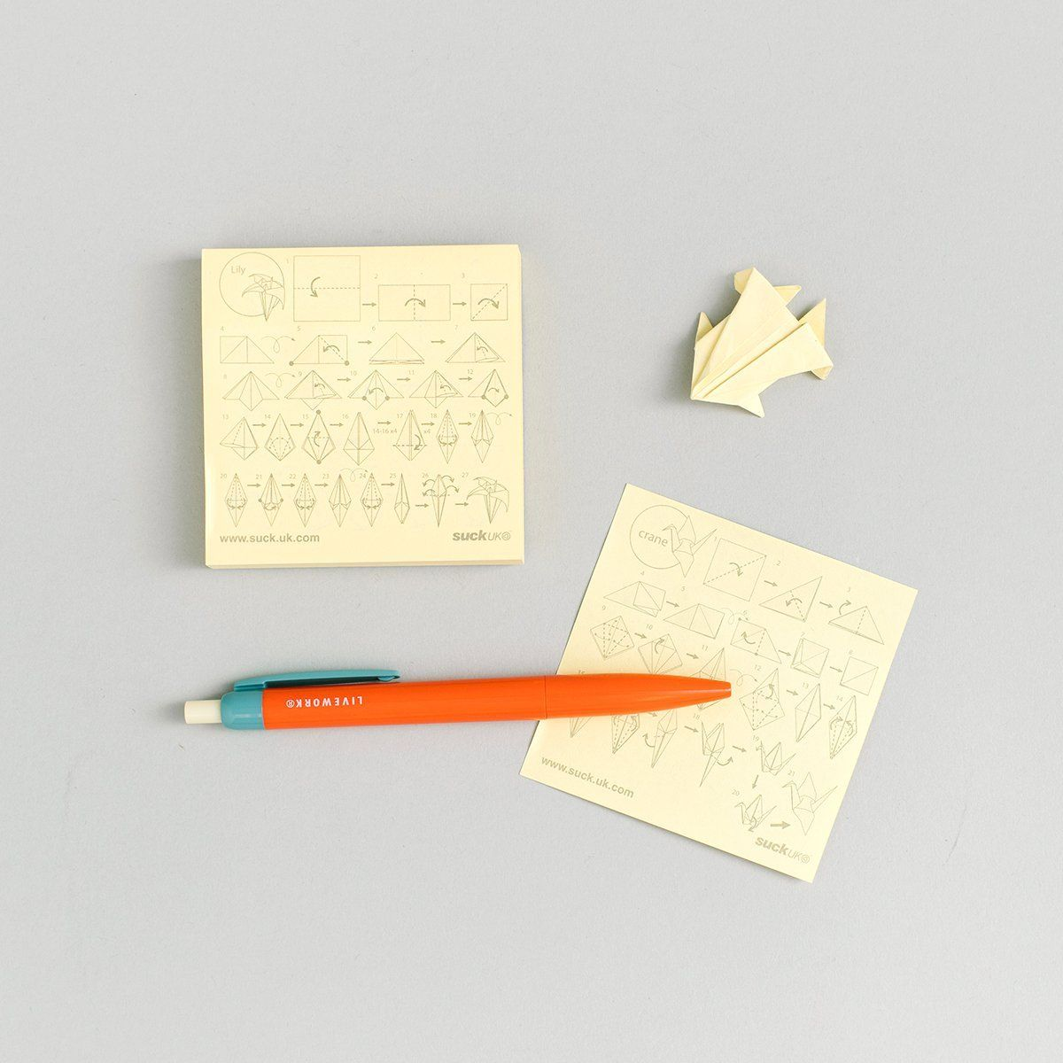 Origami Sticky Notes In 2020
