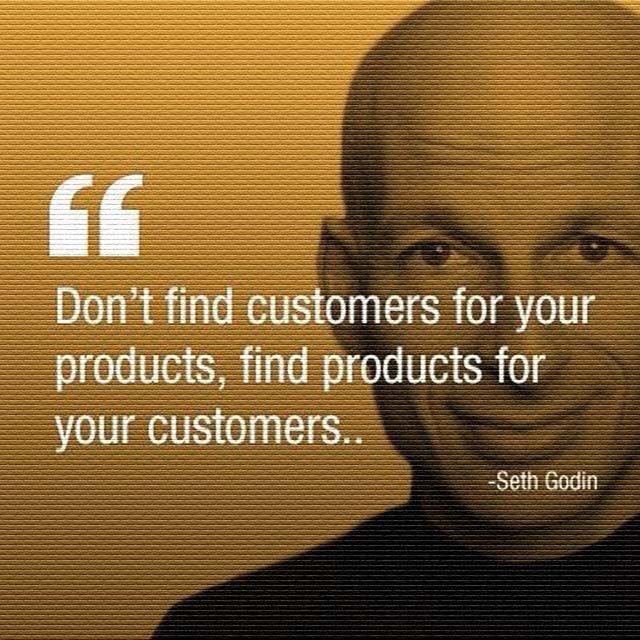 Seth Godin: On Finding Customers